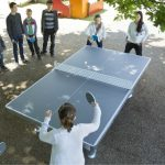 outdoor ping pong table phot