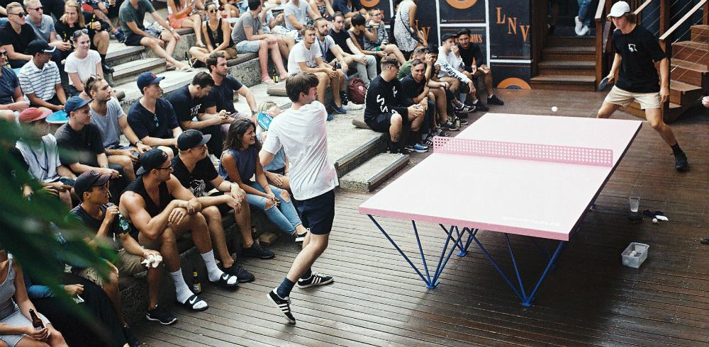 public ping pong tables