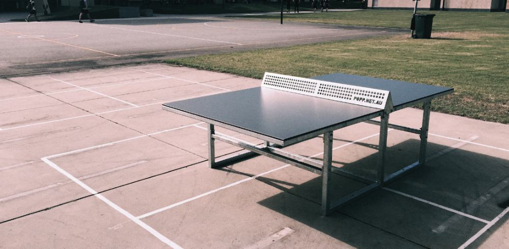 local outdoor ping pong tables