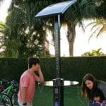 solar charging stations for park