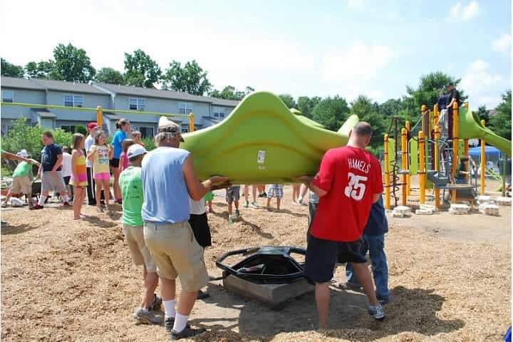 community build playground