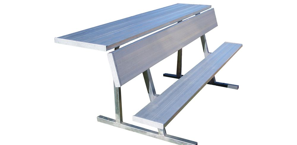 Sports Team Bleachers and Player Benches