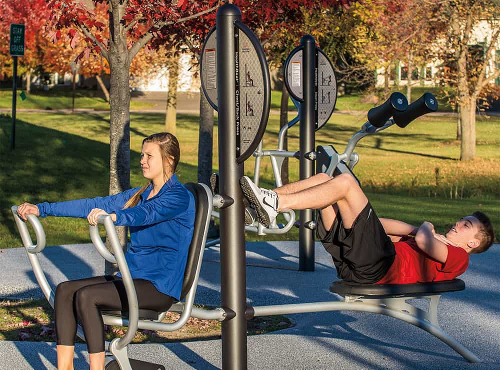 Outdoor Fitness Equipment General Recreation Inc