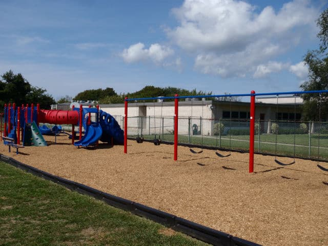 Cape May Coast Guard Recruits Build Playground For Local School General Recreation Inc