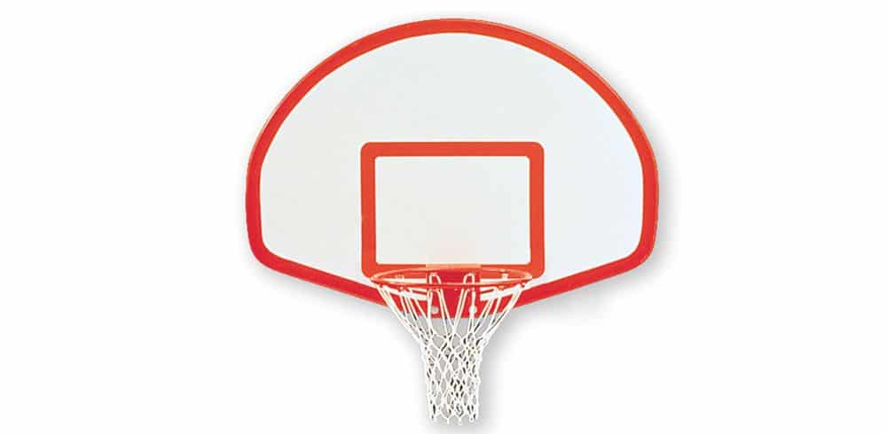 School basketball equipment