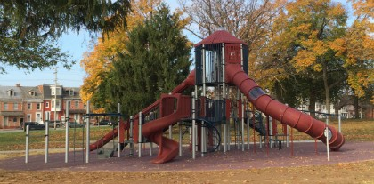 new playground photo