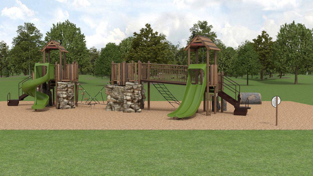 playground rendering design services