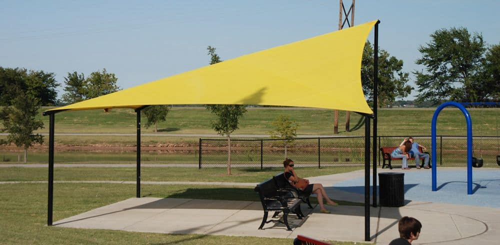 commercial canopy structures
