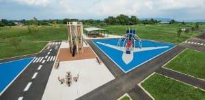 playground safety surfacing photo