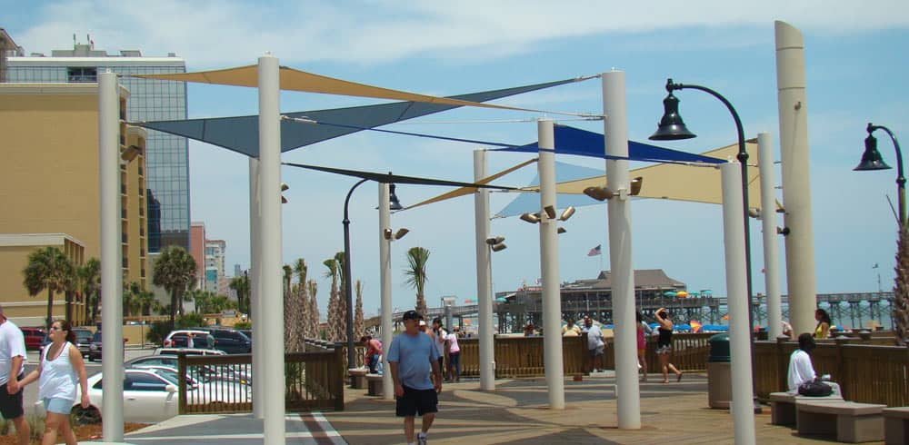 sun shade structures
