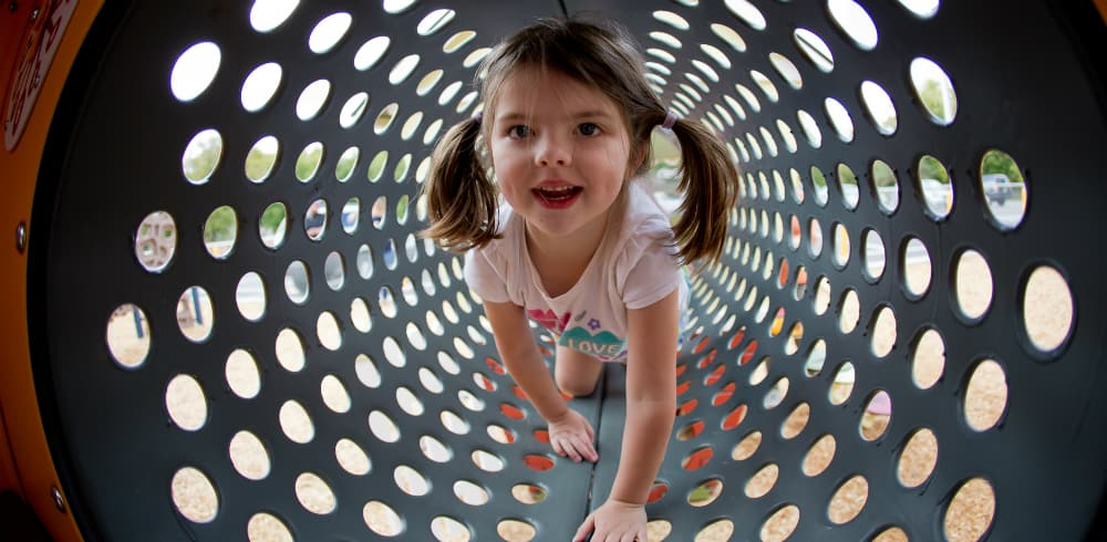 smart play centre tunnel