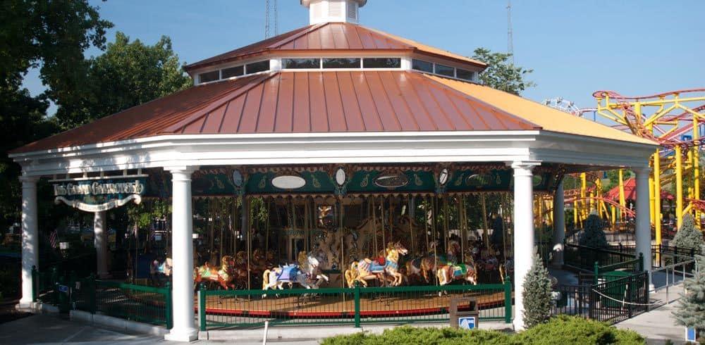 steel pavilions