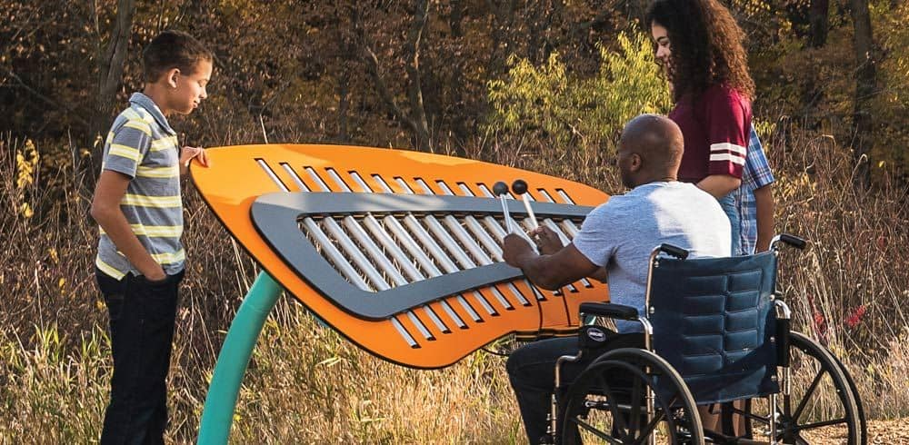 outdoor musical instruments for playgrounds
