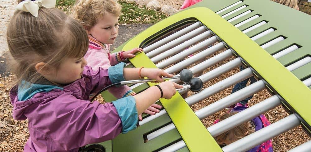 outdoor musical playground
