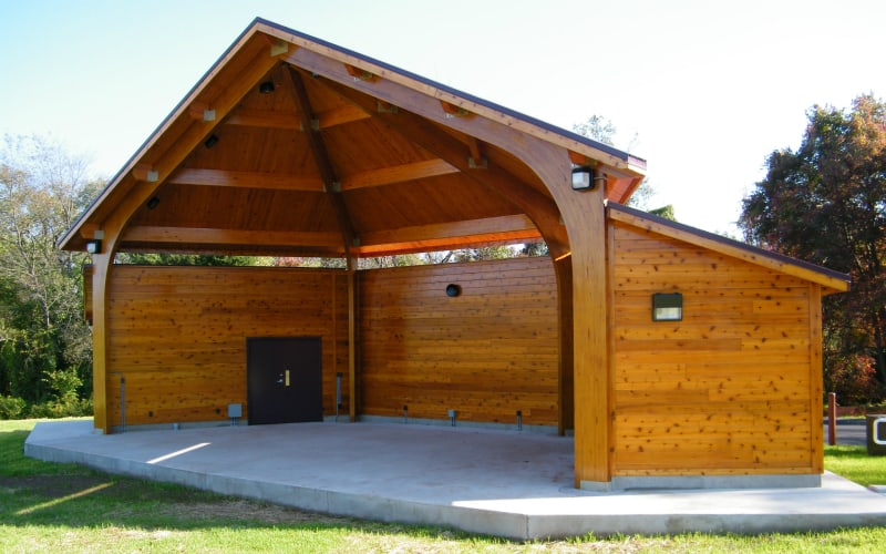 anderson farm band shell