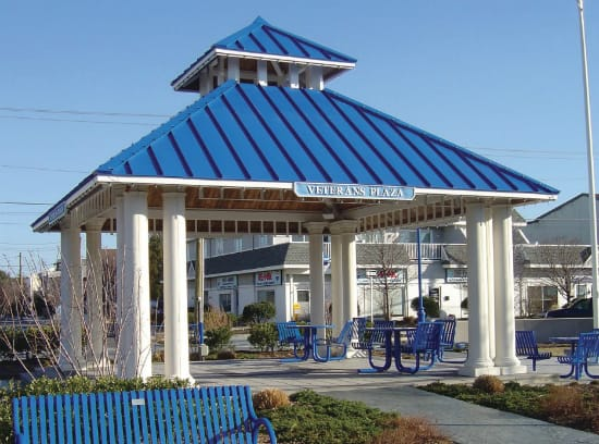 custom veterans park