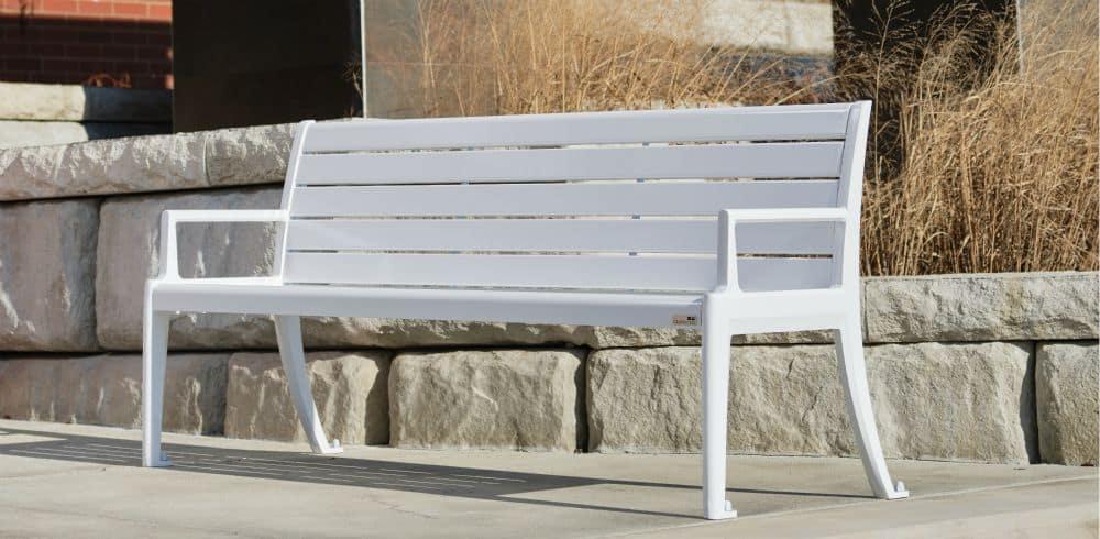 dumor inc park bench