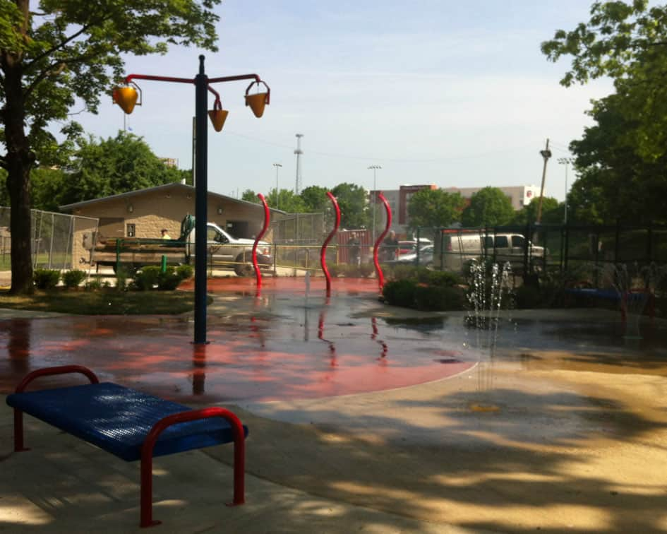 Spray Park Equipment Installation Pittsburgh PA