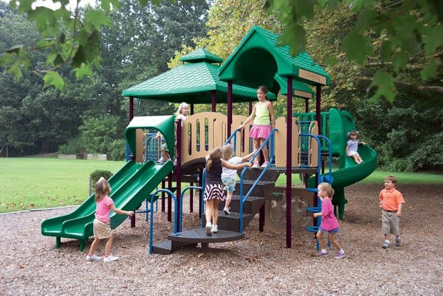 Outdoor Play Structures 16