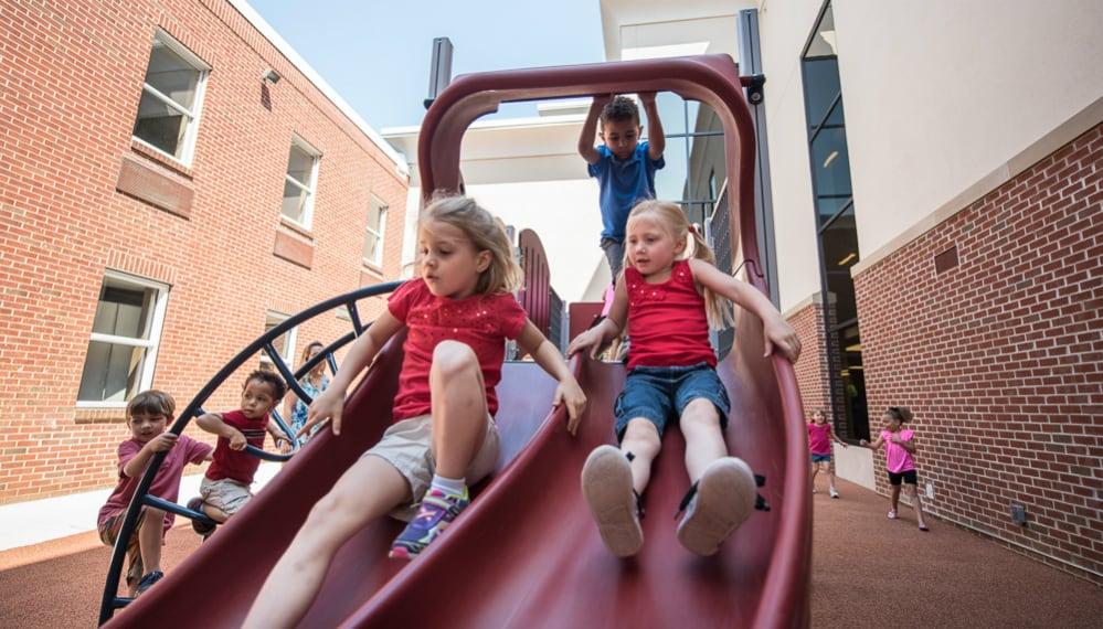 playground slide safety