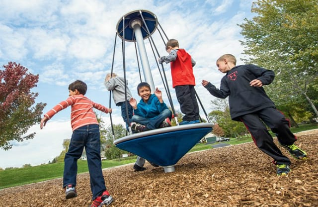 spinner playground equipment