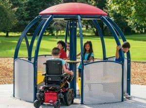 inclusive play we-go-round photo 2