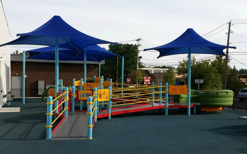 childrens therapy playground
