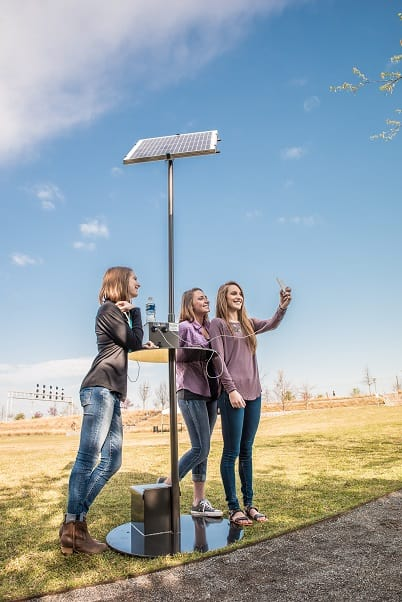 solar charging stations