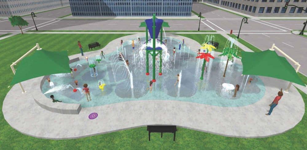 water playground design