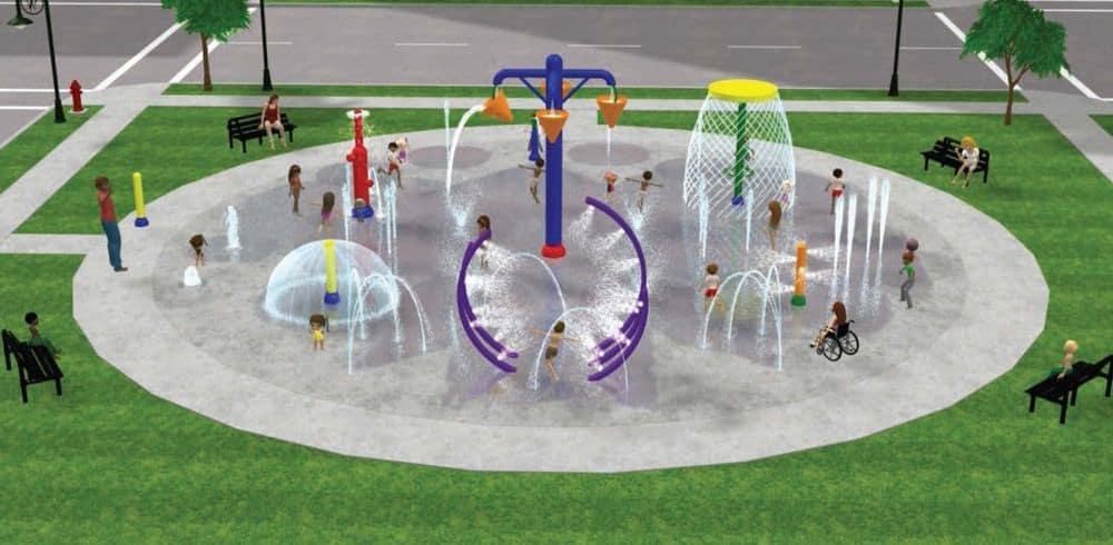 aquatic playground equipment design