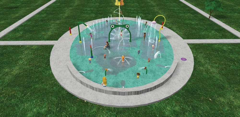 commercial water park