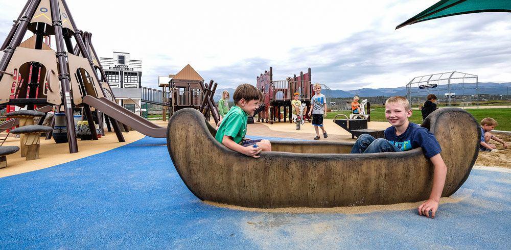 Custom Designed Playground Equipment