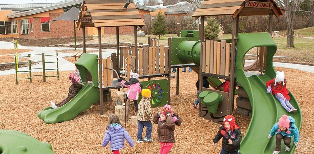Nature Playground Equipment