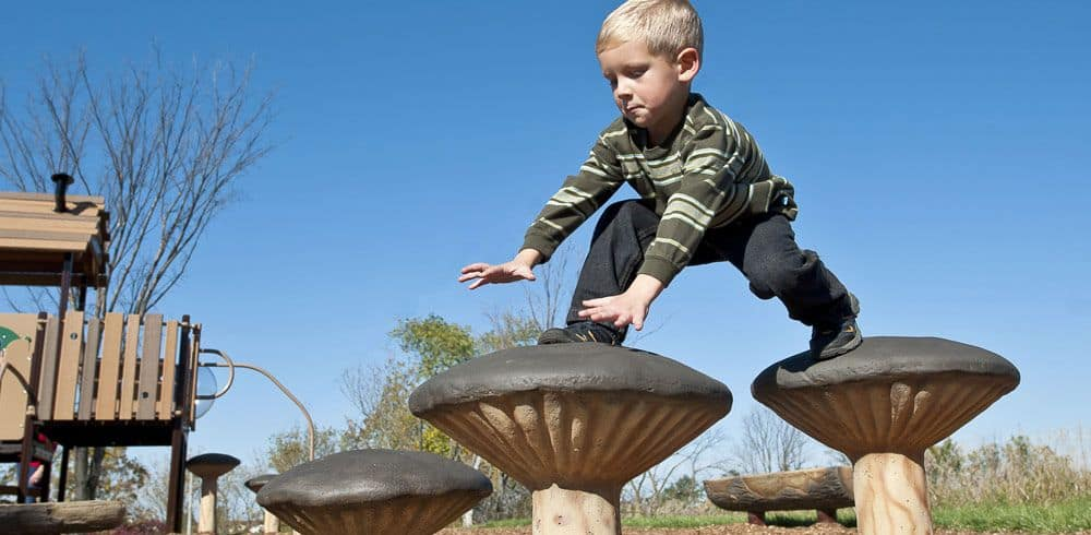 photo of child seen as natural play