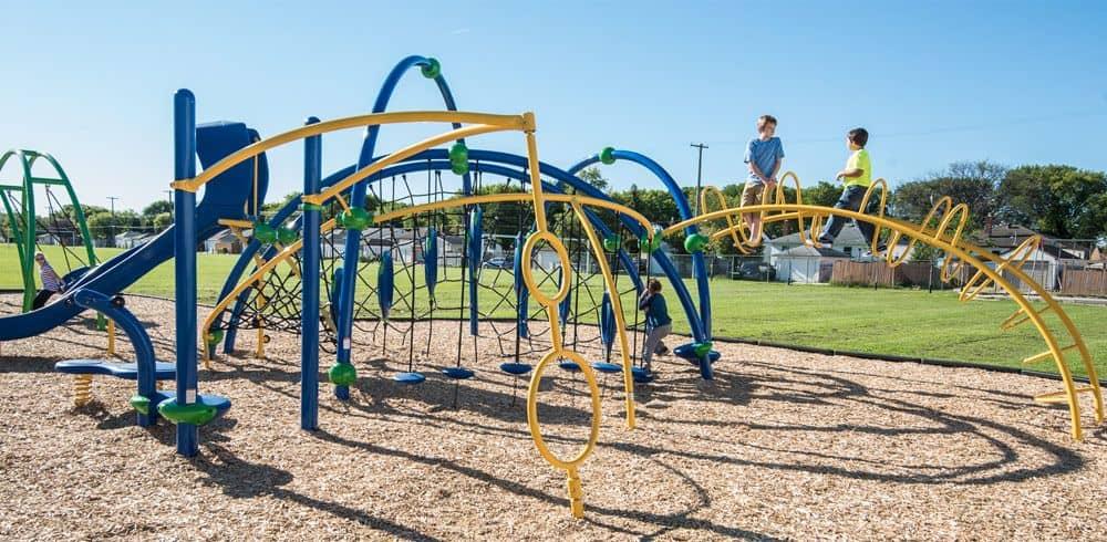 unique playground equipment