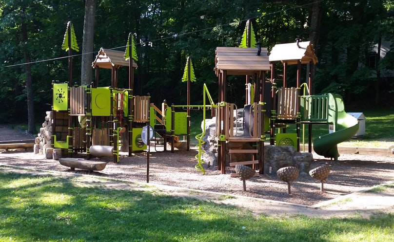 natural play equipment
