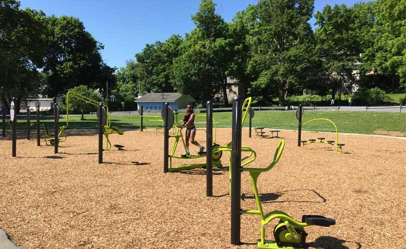 Outdoor Gym Equipment Allentown PA