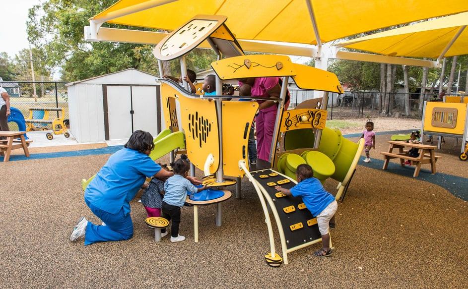 purchasing park and playground equipment