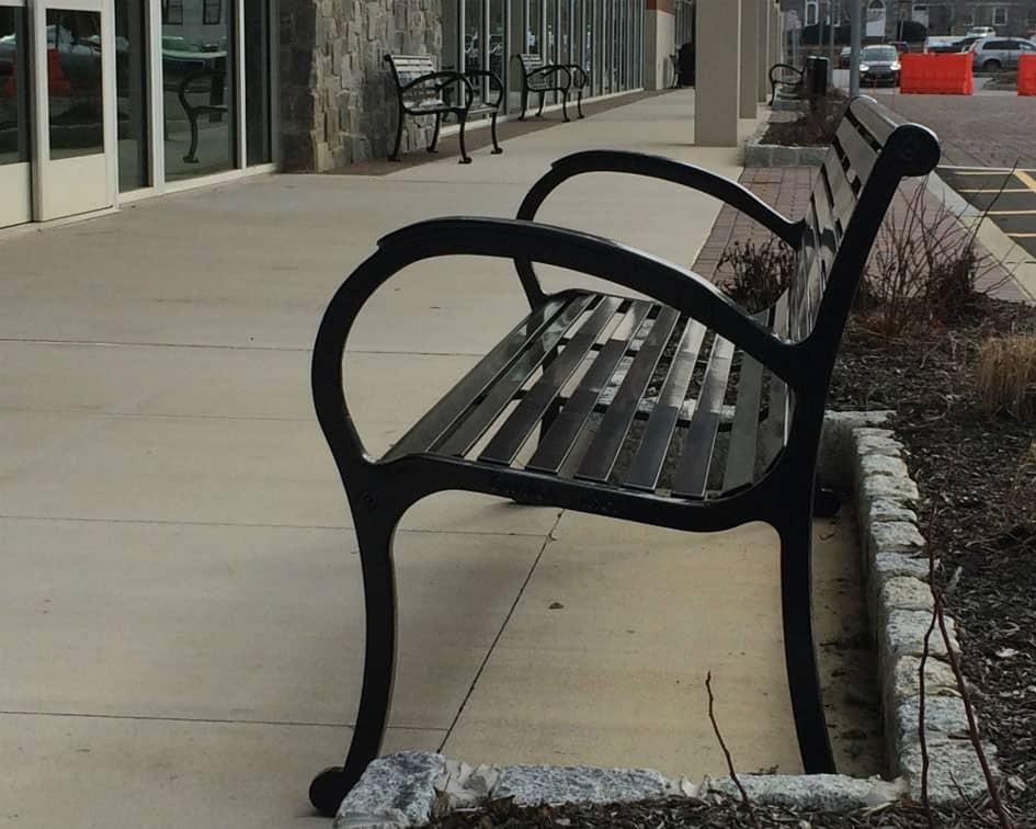 Ellis Preserve Shopping Center Benches