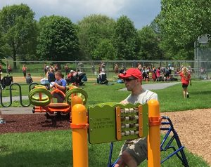 Harmony Playground inclusive playground features