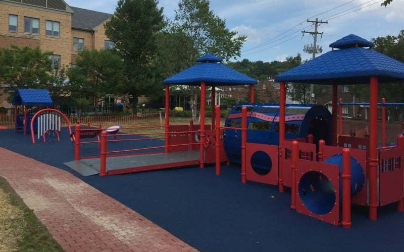 Children's Home of Pittsburgh inclusive playground