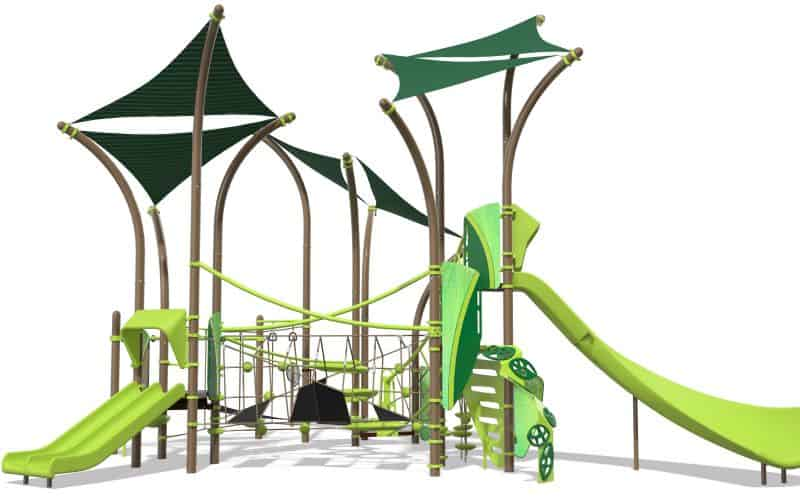 Tree Tops Playground Design