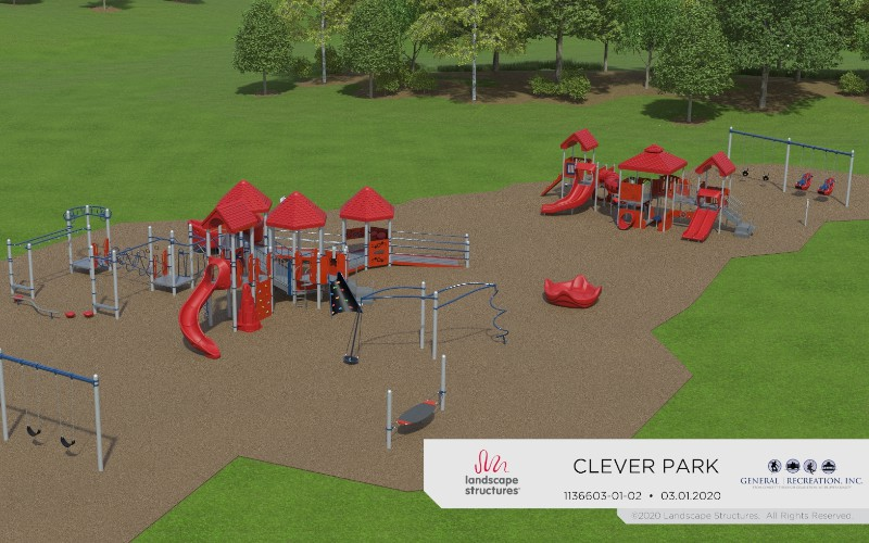 Clever Park ADA accessible playground